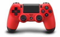 Беспроводной контроллер DualShock 4 Wireless Controller Magma Red (красный) для Sony PlayStation 4