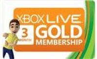 Карта оплаты Xbox Live Gold на 3 месяца