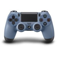 Купить Геймпад DualShock 4 Wireless Controller Grey-Blue (PS4) в Минске