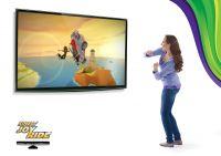 Microsoft Kinect Sensor + игра Kinect Adventures для Xbox 360 Slim