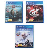 Игровая консоль Playstation 4 1ТБ в комплекте с 3 играми подпиской PS Plus